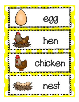 Spring Chickens!  A Spring and Life Cycle of a Chicken  Lesson Plan