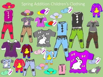 Spring Children's Clothes Collection