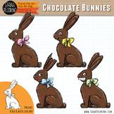 Easter Chocolate Bunnies Clip Art