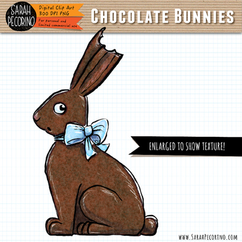 Easter Chocolate Bunnies Clip Art
