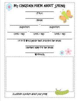 second grade spring poem