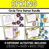 Spring Circle Time Activities **BUNDLE**