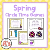 Preschool Circle Time | Spring Activities