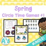 Spring Circle Time Activities Set #1 **BUNDLE**