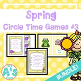 Spring Circle Time Activities Set #3 **BUNDLE**