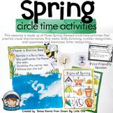Spring Circle Time Activities for Preschool and Kindergarten