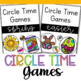 Spring Circle Time Games