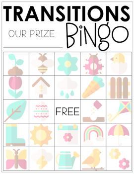 Spring Classroom Management Bingo