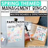 Distance Learning | Spring Classroom Management Bingo | Game | Plan | Digital