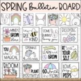 Spring Classroom Posters   Spring Bulletin Board Set