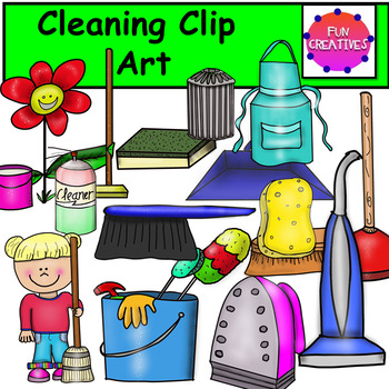 Spring Cleaning Clip Art