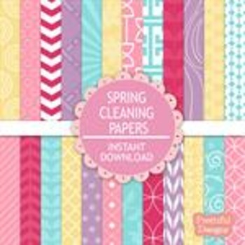 Spring Cleaning Paper Pack