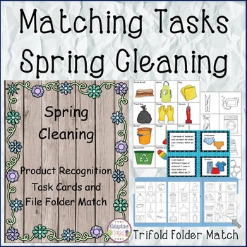 MATCHING TASKS Spring Cleaning