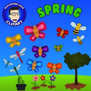 Spring Freebie Clipart
