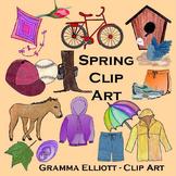 Spring Clip Art - Realistic - 300 DPi PNG