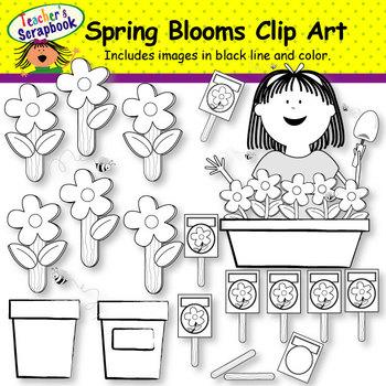 Spring Clip Art BUNDLE