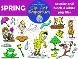 Spring Clip Art - The Schmillustrator's Clip Art Emporium