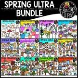 Spring Clip Art Ultra Bundle {Educlips Clipart}
