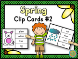 Spring - Clip Cards Game #2