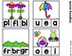 Spring Clip Cards for Reading and Math