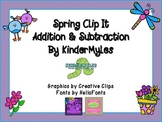 Spring Clip It Addition and Subtraction