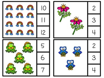 Spring Clip or Cover Counting Cards