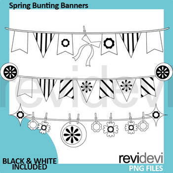 Spring Clipart Banners