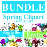 Spring Clipart Bundle & Save