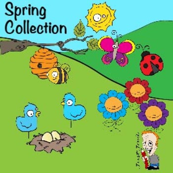 Spring Clipart Collection