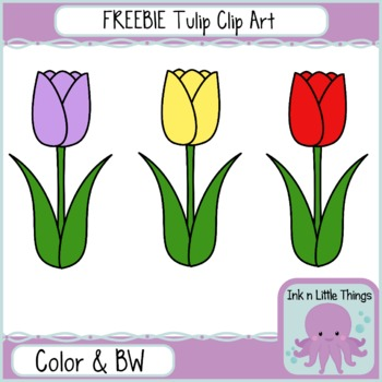 Spring Clipart - FREEBIE Sample of Spring Critters and Things Clipart