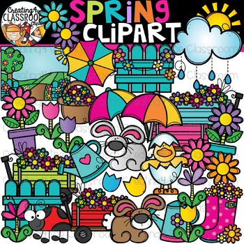 Spring Clipart {Seasons Clipart} by Creating4 the ...