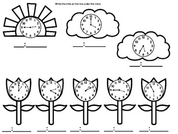 Spring Clocks and Coins
