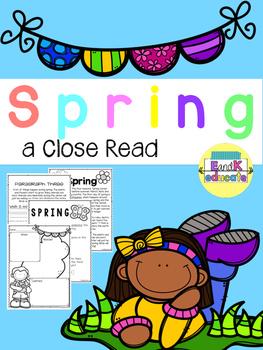 Spring Close Read