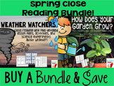 Weather and Plants Spring Close Read Bundle