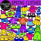 Spring Clothes Clipart {Creative Clips Clipart}