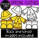 Spring Clothes Clipart {Creative Clips Clipart}