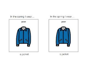 Spring Clothing Emergent Reader