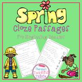 Spring Cloze Passages