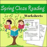 Spring Cloze Worksheet