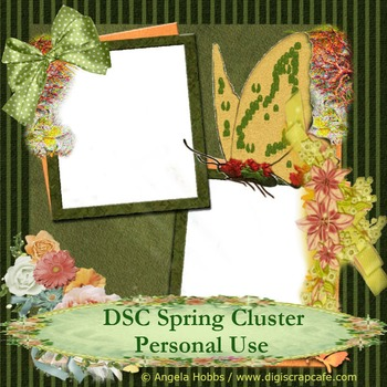 Spring Cluster Frame