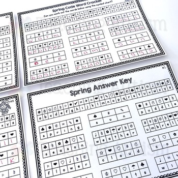 Spring Code Word Cracker
