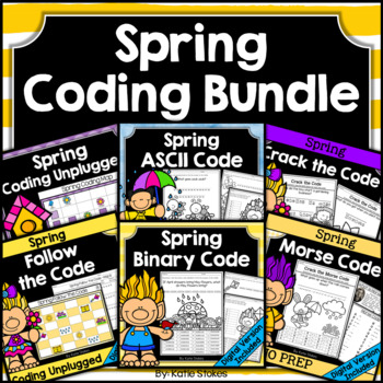 Spring Coding BUNDLE | Distance Learning