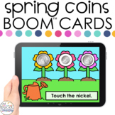 Spring Coin ID Boom™ Cards - Distance Learning for Special