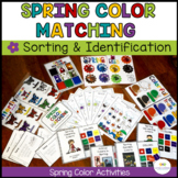 Spring Color Activities for Generalization {Autism, Early