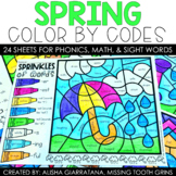 Color By Code Spring