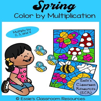 Spring Color By Multiplication