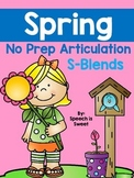 Spring Articulation Activities: S-blends