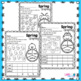 Spring Color Graphing Activities | Color Graphing | Spring Math Centers