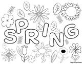 Spring Color Sheet