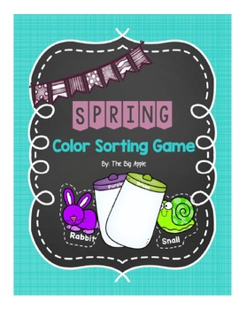 Spring Color Sorting Game